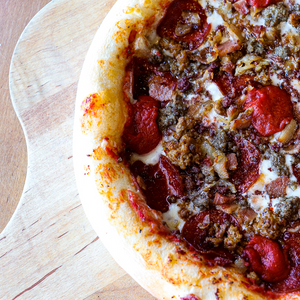 Take 'n' Bake Pizza: Manitoba Meat Lovers (FROZEN)