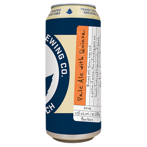 Small Batch: Pale Ale with Quinoa Cans