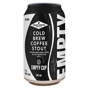 TCB x Empty Cup Collective: Cold Brew Coffee Stout Cans