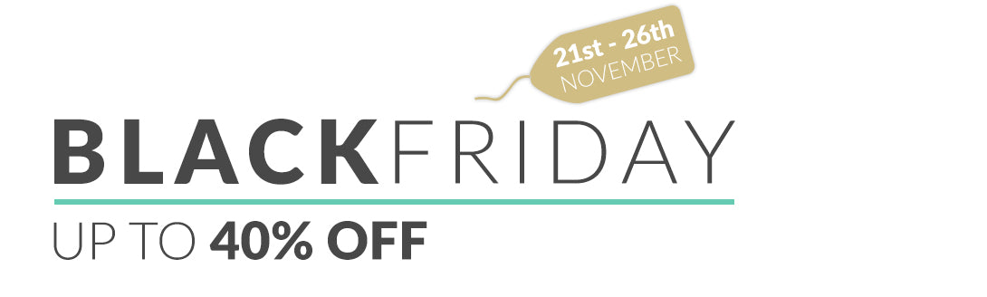 BLACK FRIDAY 2018 UP TO 40% OFF