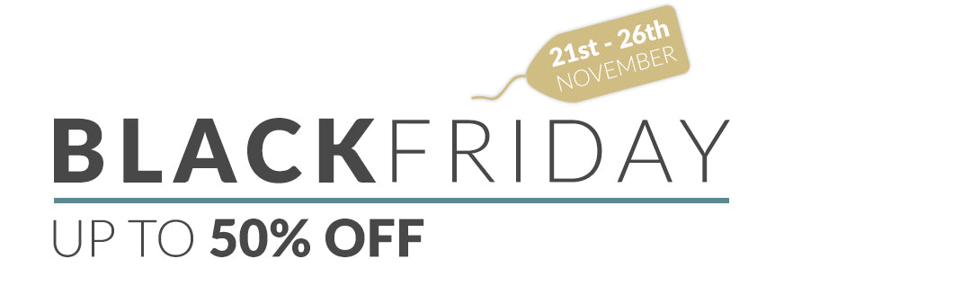 BLACK FRIDAY 2018 UP TO 50% OFF