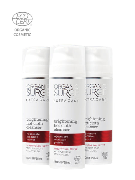 Brightening Hot Cloth Cleanser Trio