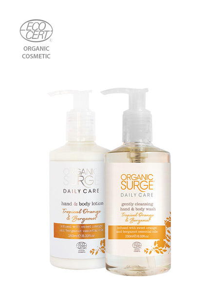 Tropical Orange & Bergamot Hand & Body Care Duo