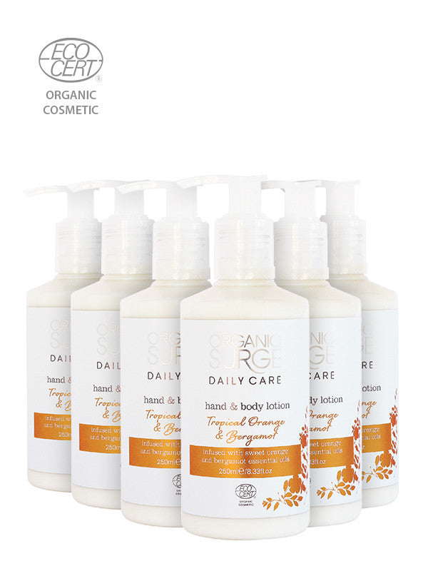 Eco Tropical Orange & Bergamot Hand & Body Lotion