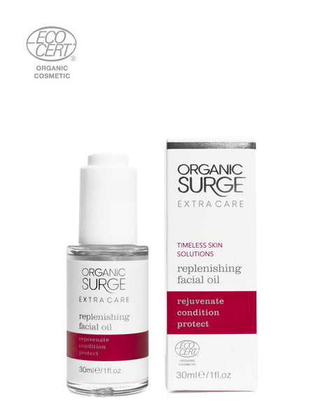 Organic Surge Replenishing Facial Oil Enriched with Argan Oil