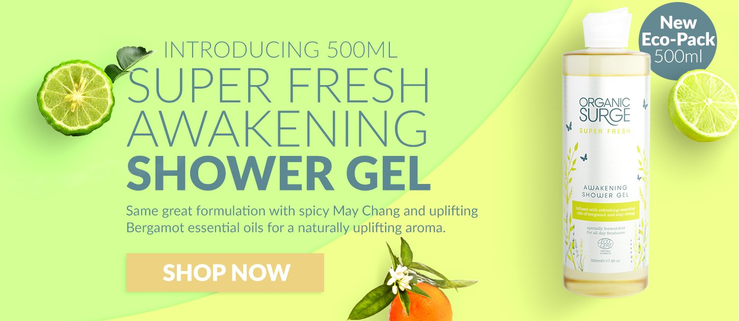 Super Fresh Awakening Shower Gel 500ml