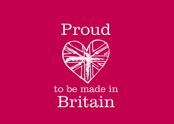 Proud To be Made In Britain