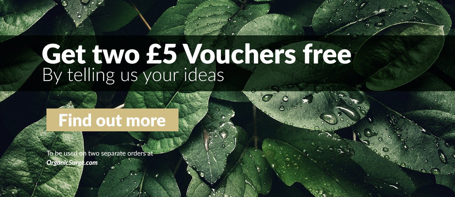 Get 2 £5 Vouchers Find out how