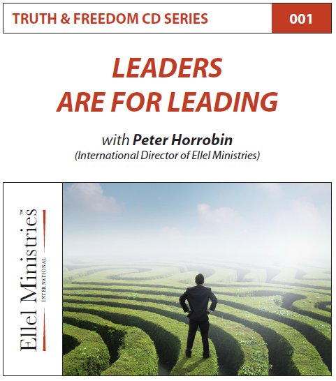 TRUTH & FREEDOM: Leaders are for Leading