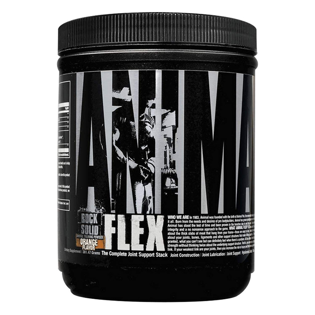 Universal Nutrition Animal Flex Powder Complete Joint Support Supplement, 30 Servings Orange