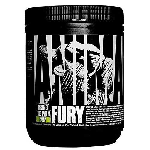 Universal Nutrition Animal Fury (Complete Pre-Workout Stack) Green Apple