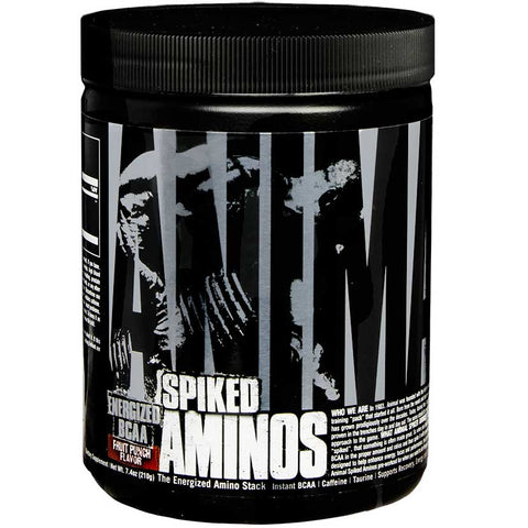 Animal Spiked Aminos 30 Servings Fruit Punch Flavour