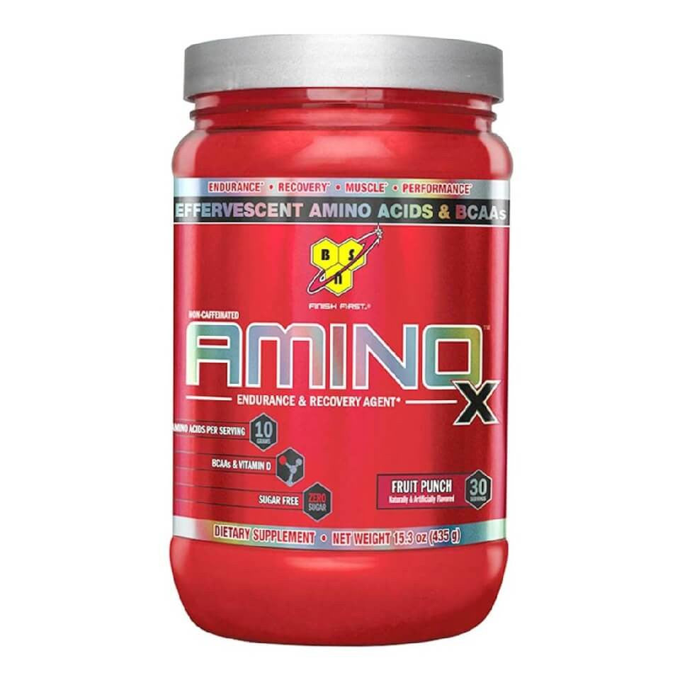 BSN Amino-X, 0.95 lb Fruit Punch