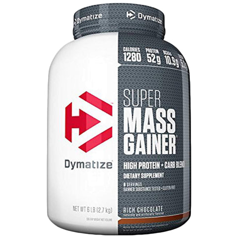 Dymatize Super Mass Gainer 6 lbs Rich Chocolate