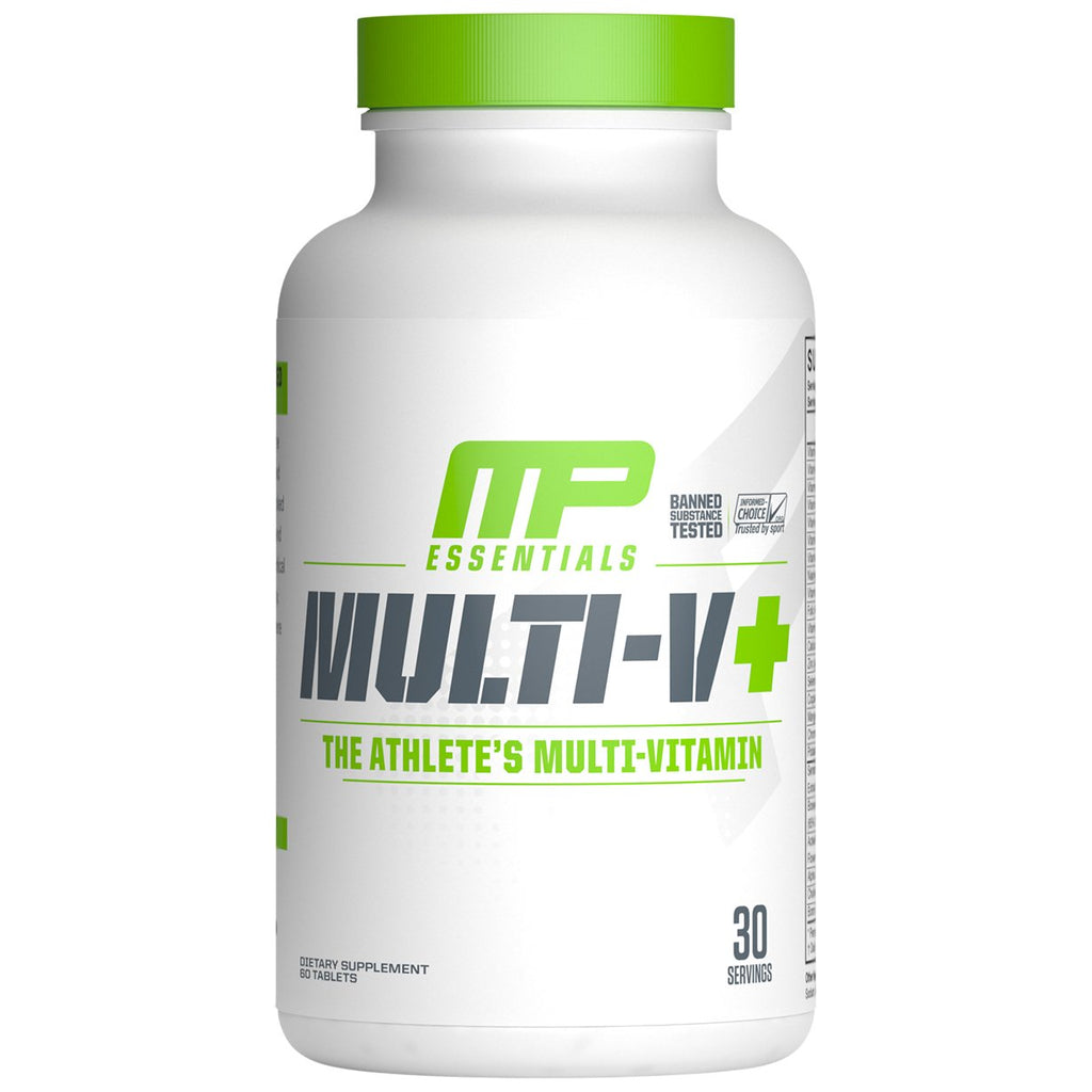 MusclePharm Essential Multi-V+ The Athlete's Multi-Vitamin 60 Tablets