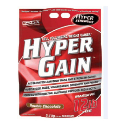 Inner Armour Hyper Strength Hyper Gain, Chocolate 12 lb