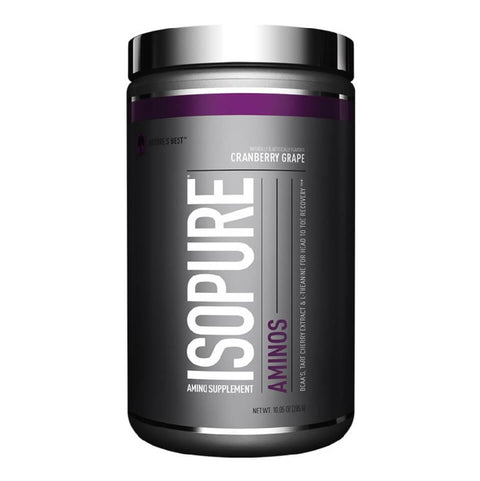 Isopure Amino, 0.63 lb Cranberry Grape