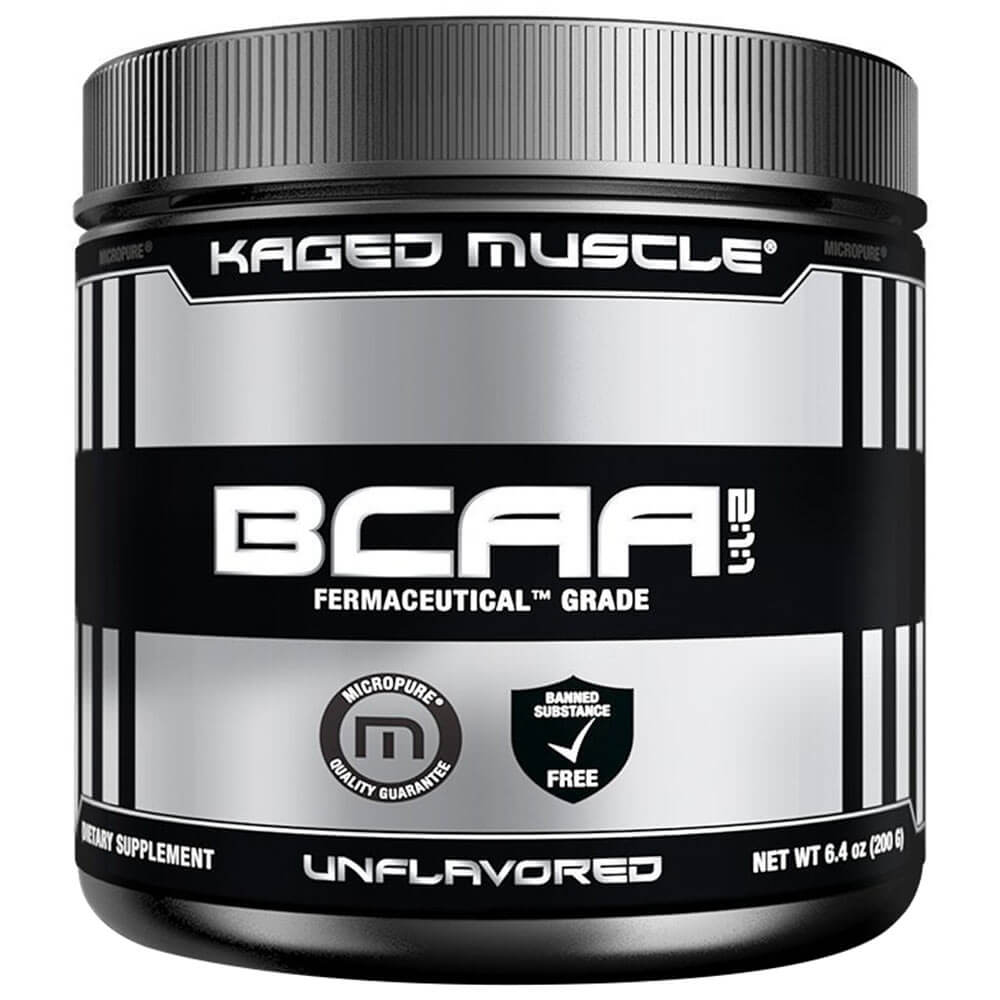 Kaged Muscle BCAA Powder, 200g Unflavoured