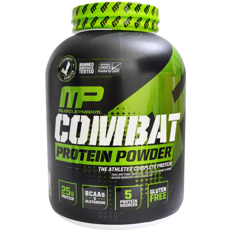 MusclePharm Combat Protein Powder, 4 lb Chocolate Milk