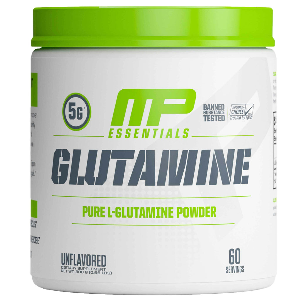 MusclePharm Essential Glutamine 60 Servings Unflavored