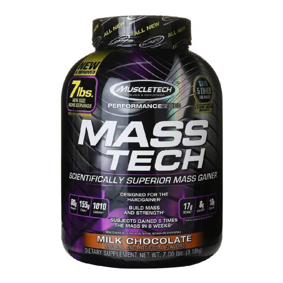 MuscleTech Mass Tech Performance Series, 7 lb Milk Chocolate