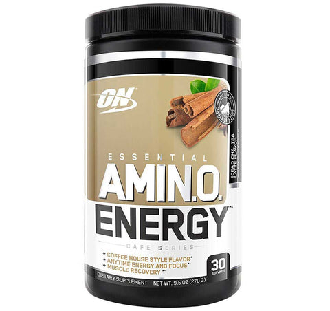 ON (Optimum Nutrition) Essential Amino Energy, 300 gram Iced Chai Tea Latte
