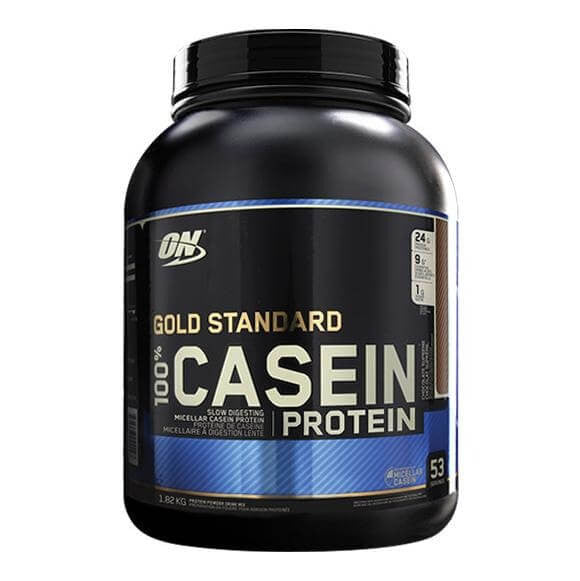ON (Optimum Nutrition) Gold Standard 100% Casein, 4 lb Chocolate