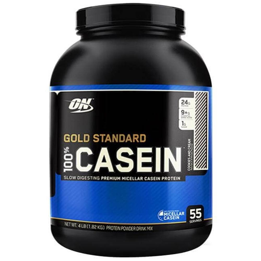 ON (Optimum Nutrition) Gold Standard 100% Casein, 4 lb Cookies and Cream