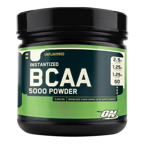 ON (Optimum Nutrition) Instantized BCAA 5000, 345 Grams 60 Servings Unflavoured
