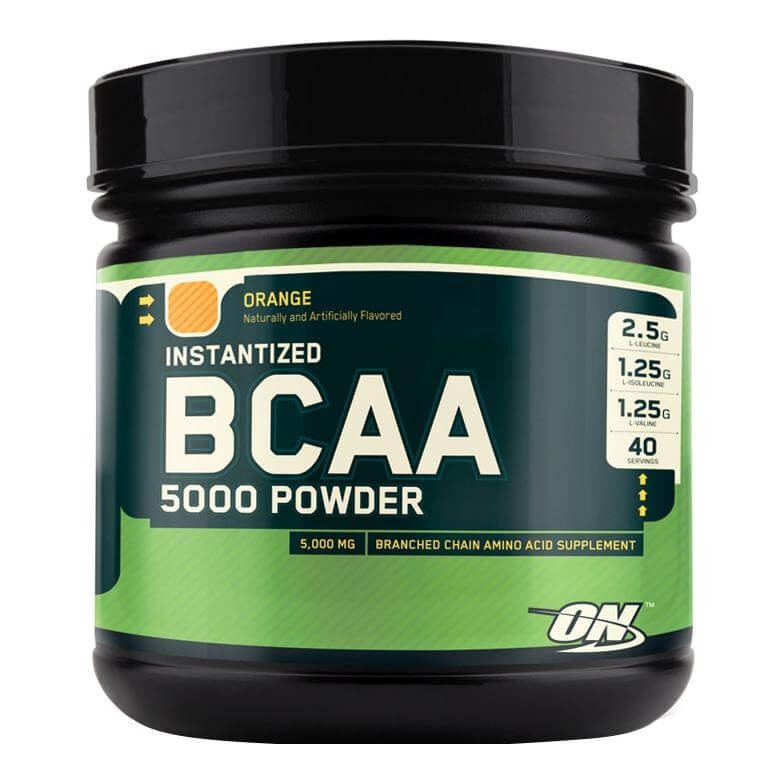 ON (Optimum Nutrition) Instantized BCAA 5000, 380 gram Orange