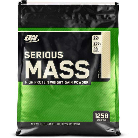 ON (Optimum Nutrition) Serious Mass, 12 lb Vanilla
