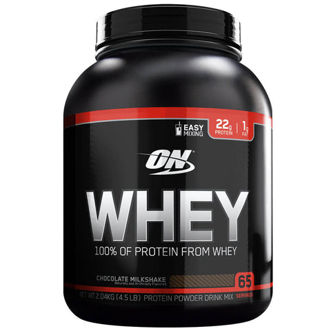 ON (Optimum Nutrition) Whey, 4.5 lb Chocolate Milkshake