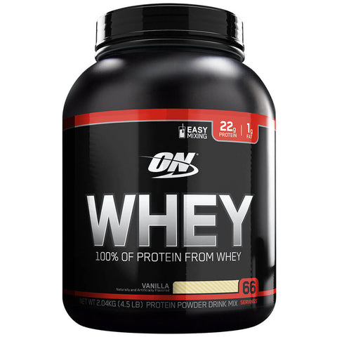 ON (Optimum Nutrition) Whey, 4.5 lb Vanilla