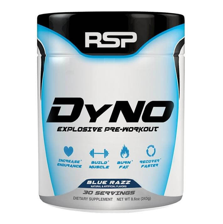 RSP Nutrition Dyno, 0.54 lb Blue Raspberry
