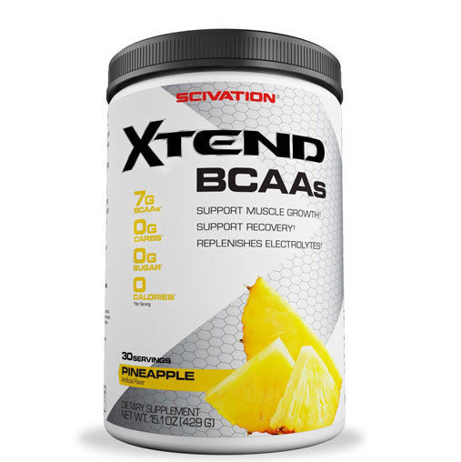 Scivation Xtend BCAA (Intra Workout Catalyst), 0.94 lb Pineapple