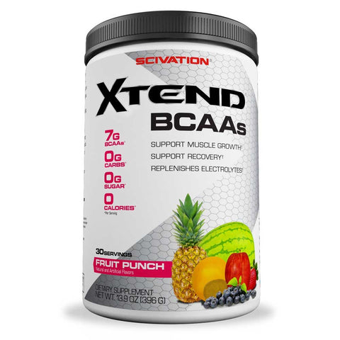 Scivation Xtend BCAA 30 Servings Fruit Punch