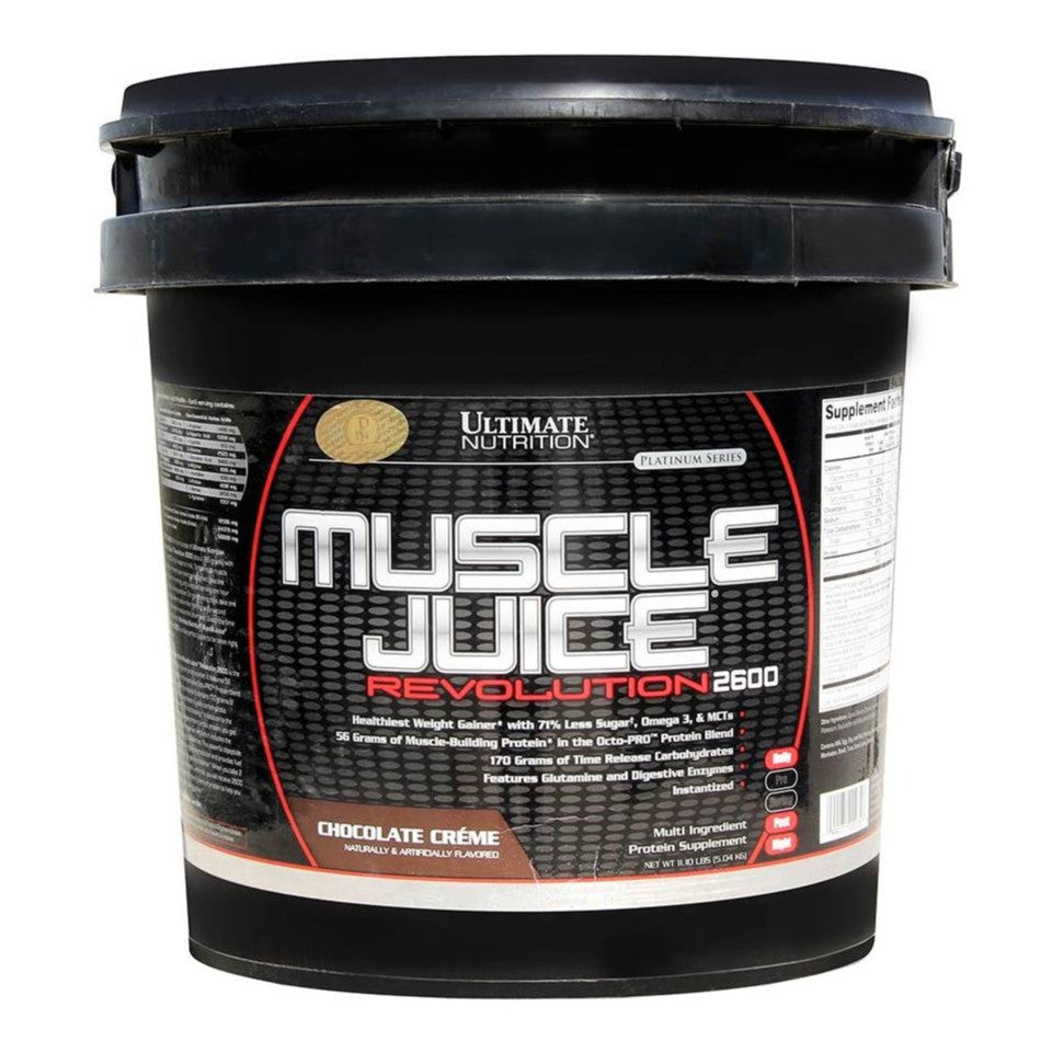 Ultimate Nutrition Muscle Juice Revolution 2600, 11.1 lb Chocolate