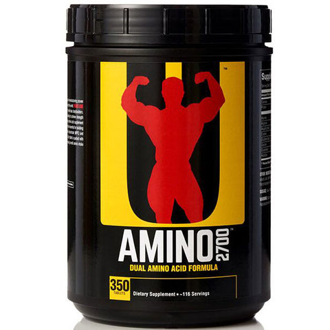 Universal Nutrition Amino 2700, 350 Tablets to Increase Strength & Recovery Time