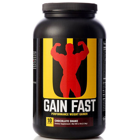 Universal Nutrition Gain Fast Performance Weight Gainer, 5.1 lb Chocolate Shake