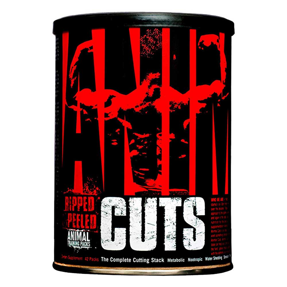 Universal Nutrition Animal Cuts, 42 Pieces/Pack Unflavoured