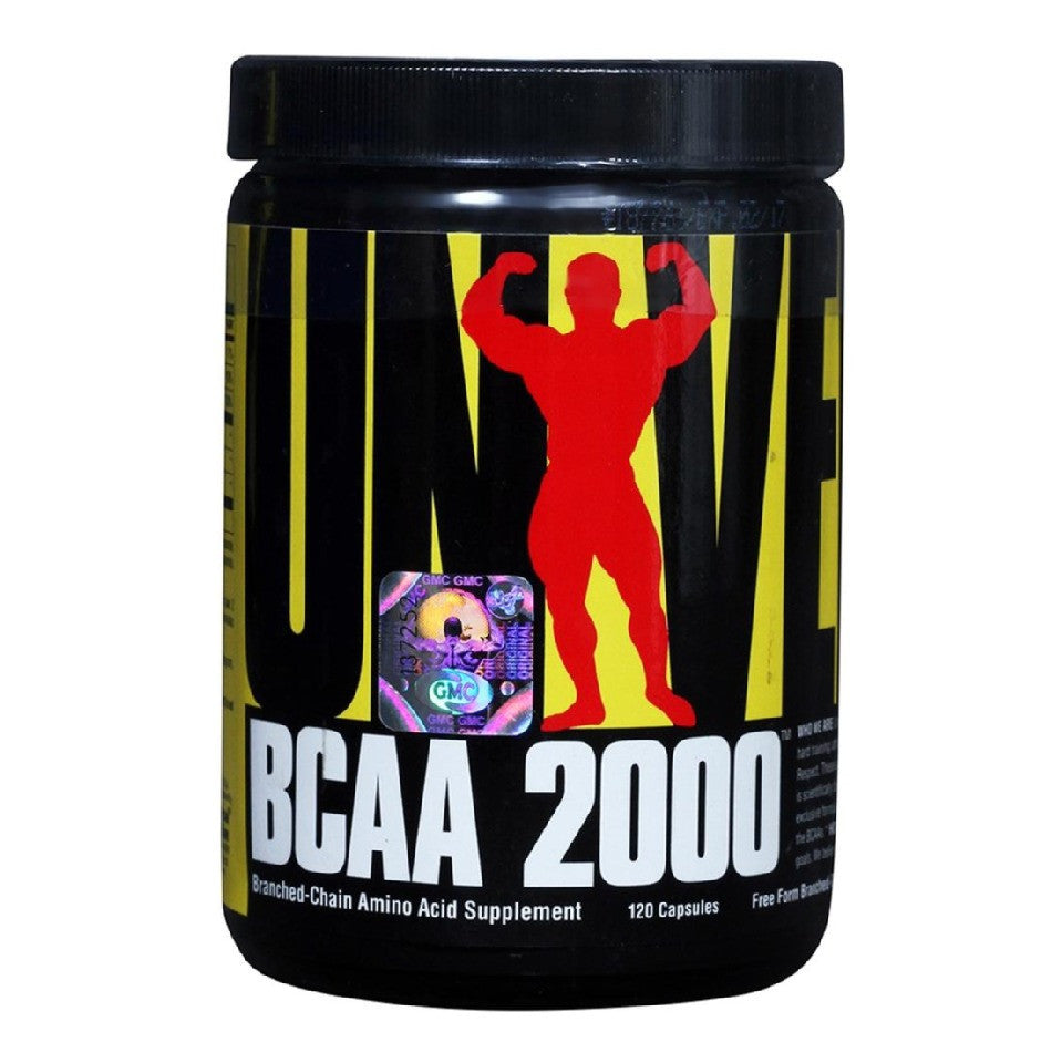 Universal Nutrition BCAA 2000, 120 capsules Unflavoured