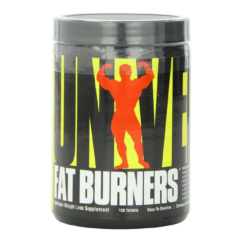 Universal Nutrition Fat Burner (Easy To Swallow), 100 tablets