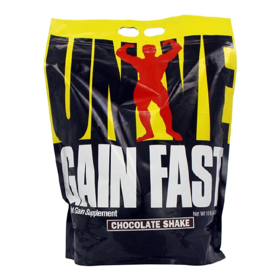 Universal Nutrition Gain Fast, Chocolate Shake 10 lb