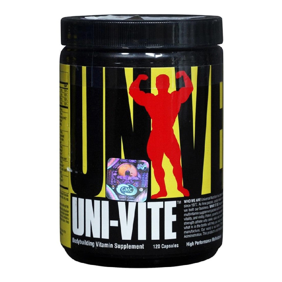 Universal Nutrition Univite, Unflavoured 120 capsules
