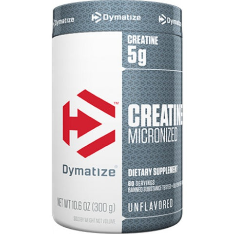 Dymatize Creatine Micronized, Unflavoured 300 Grams