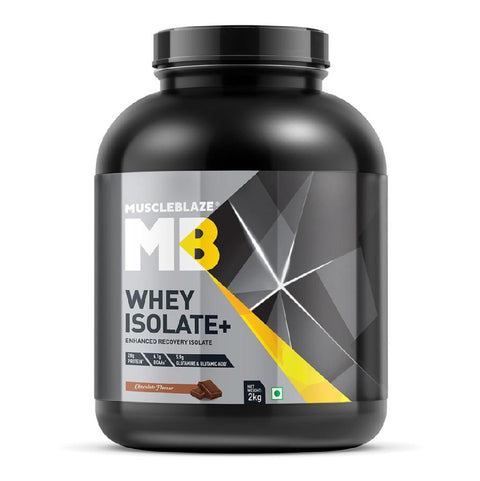 MuscleBlaze Whey Isolate+ , 2kg Chocolate