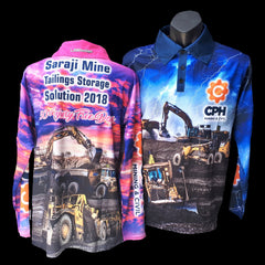 Mining shirts machinery work shirts