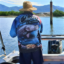 Load image into Gallery viewer, Cheers to the Weekend Fishing Shirt - Blue