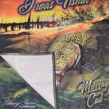 Load image into Gallery viewer, Murray Cod  Surface Strike Tea Towel