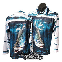 Load image into Gallery viewer, Barra King Fishing Shirt